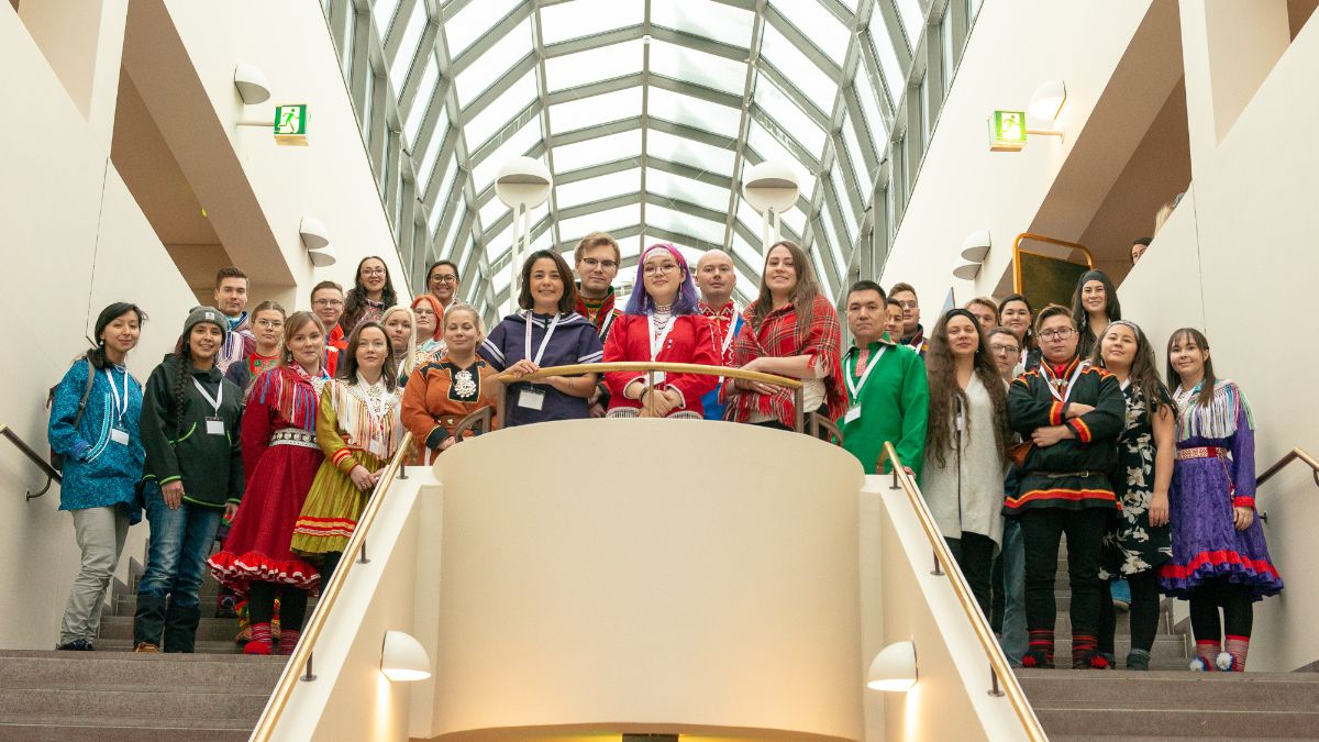 Youth at the Arctic Leaders' Youth Summit 2019