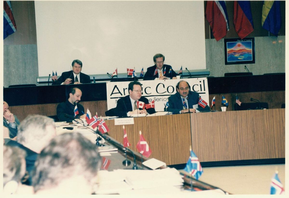 Arctic Council meeting during first US Chairmanship