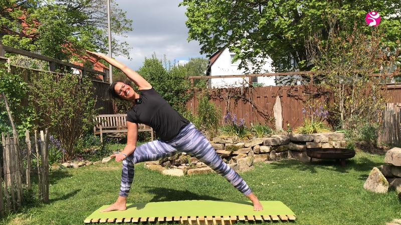 Yoga im Alten Garten
