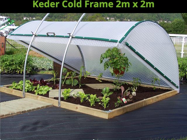 Keder Cold Frame 2m x 2m