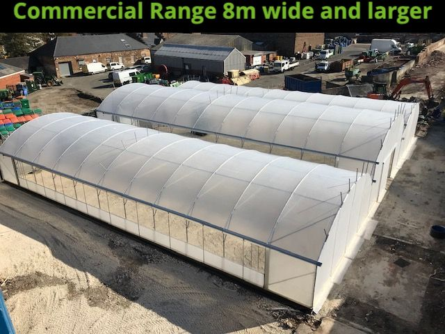 Multi Bay Commercial Keder Greenhouse
