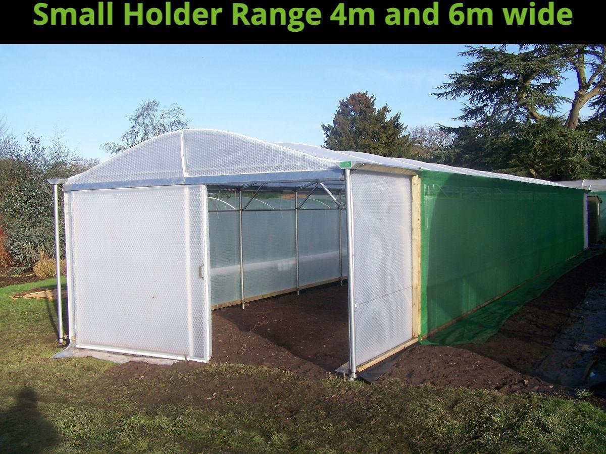 4m Wide Keder Greenhouse