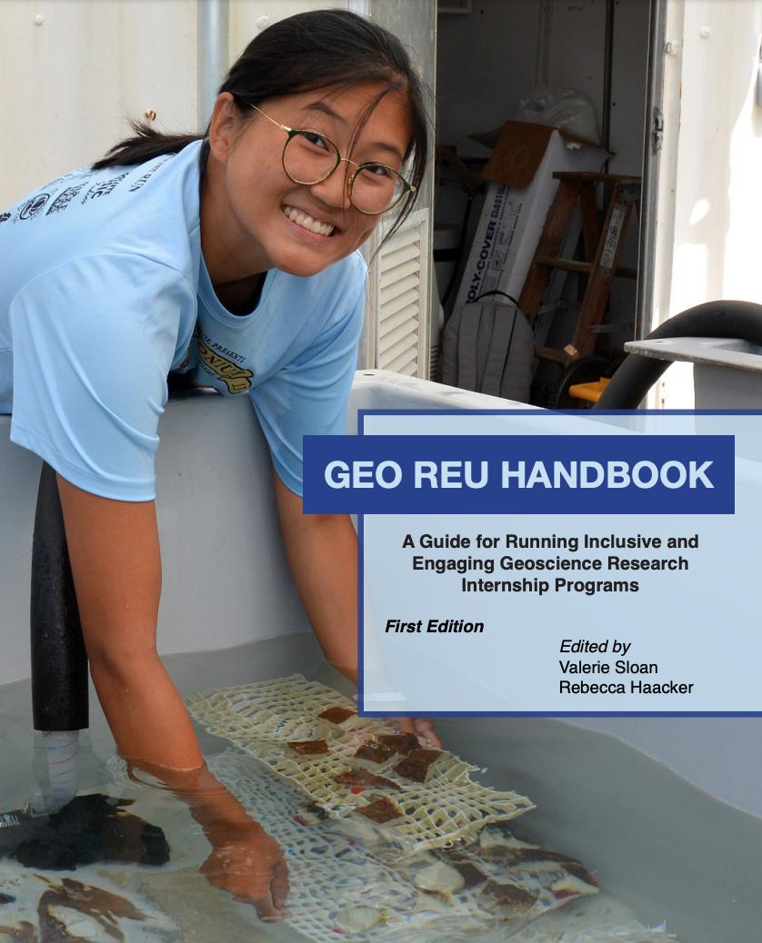 Cover of REU handbook