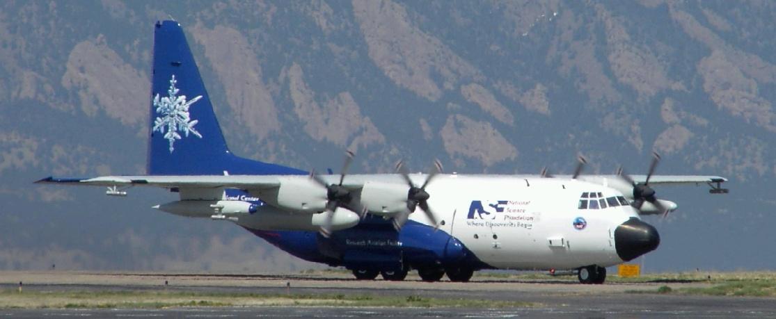The NSF/NCAR C-130 aircraft