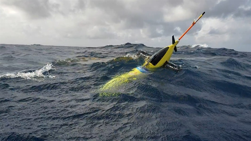 A NOAA ocean glider