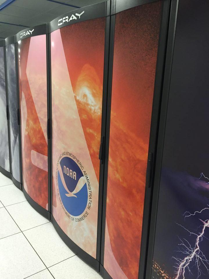 NOAA supercomputer