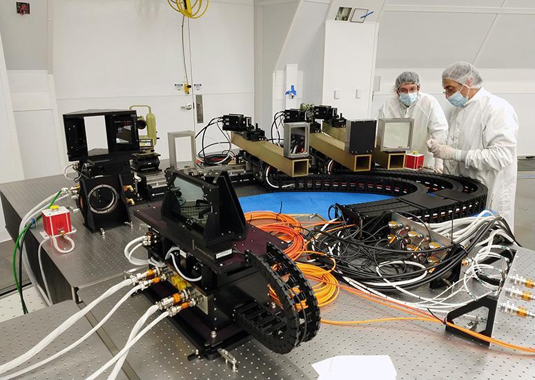 Installation of the ViSP instrument