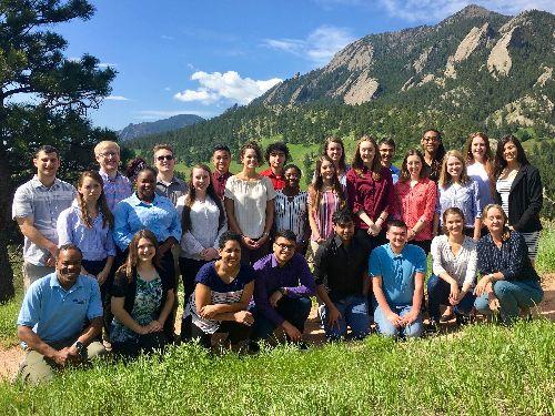 Undergrad Leadership students