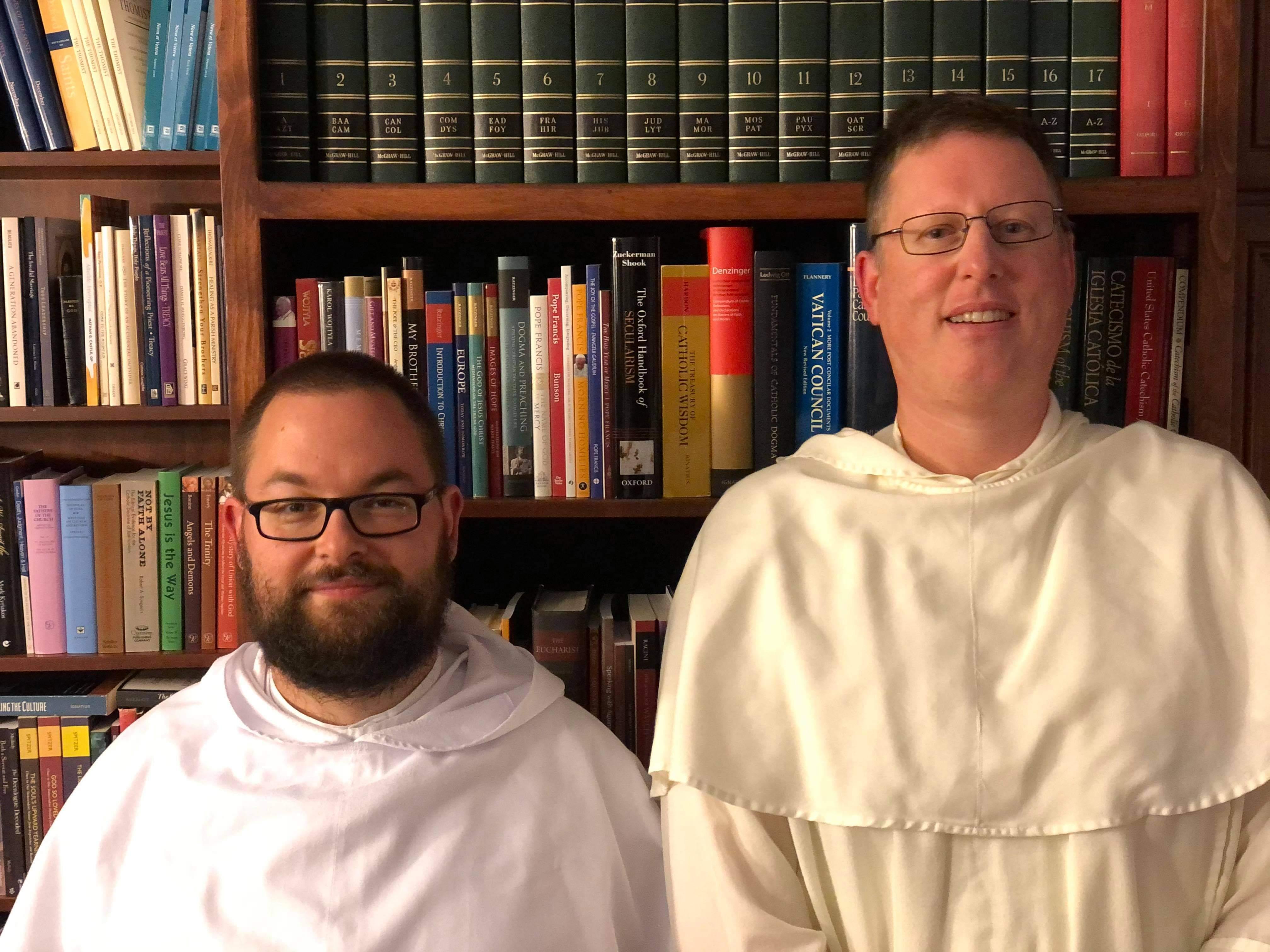 Fr. Marcin Szymanski and Fr. Augustine Hilander