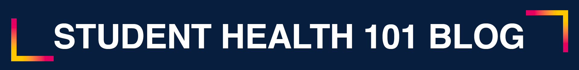 Student Health 101 Blog