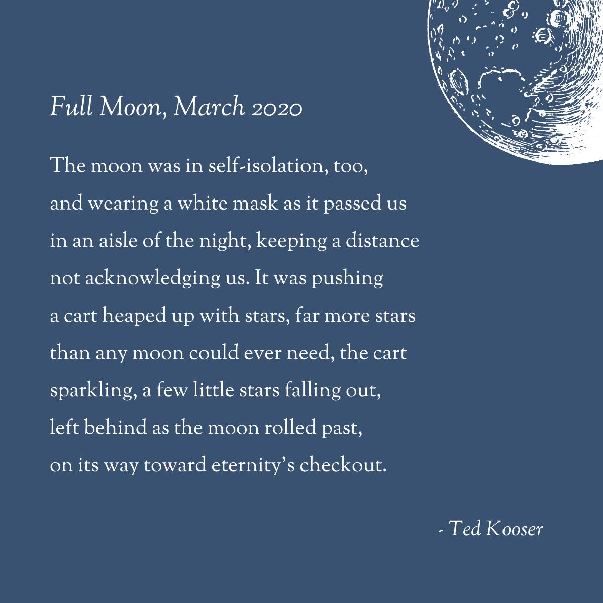 Full Moon, March 2020