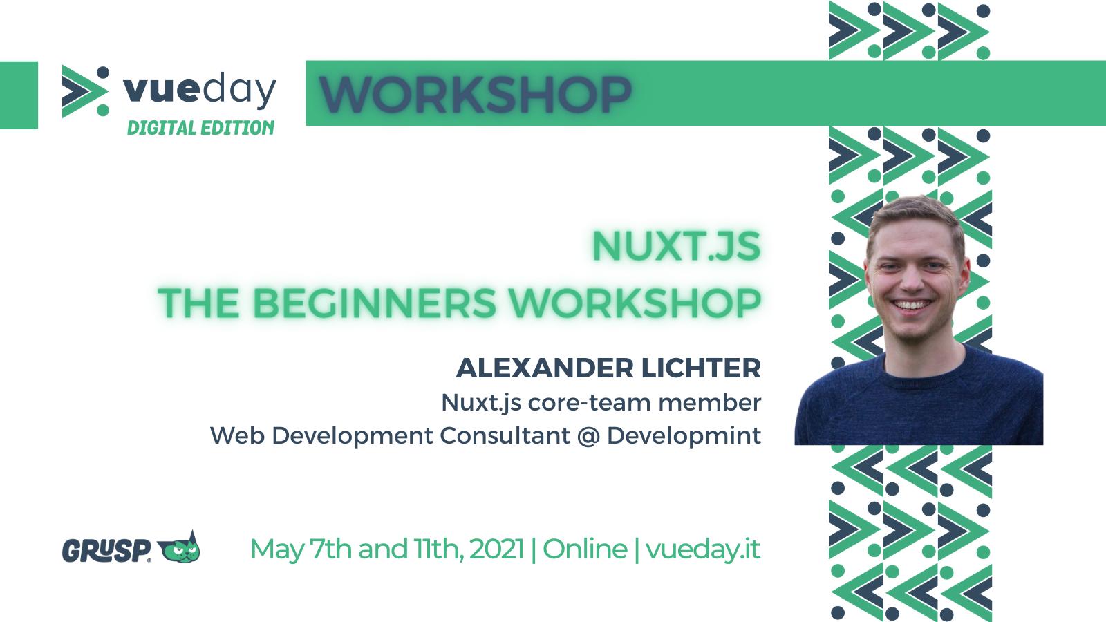 nuxtjs workshop