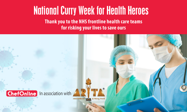 NATIONAL CURRY WEEK FOR HEALTH HEROES