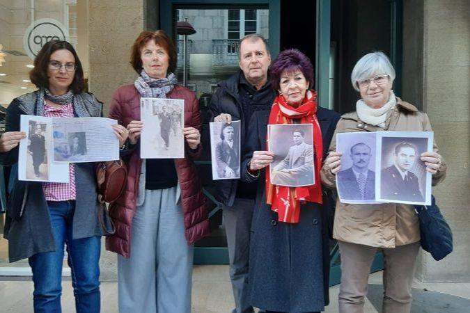 Familias deportados galicia Coruña y Lugo