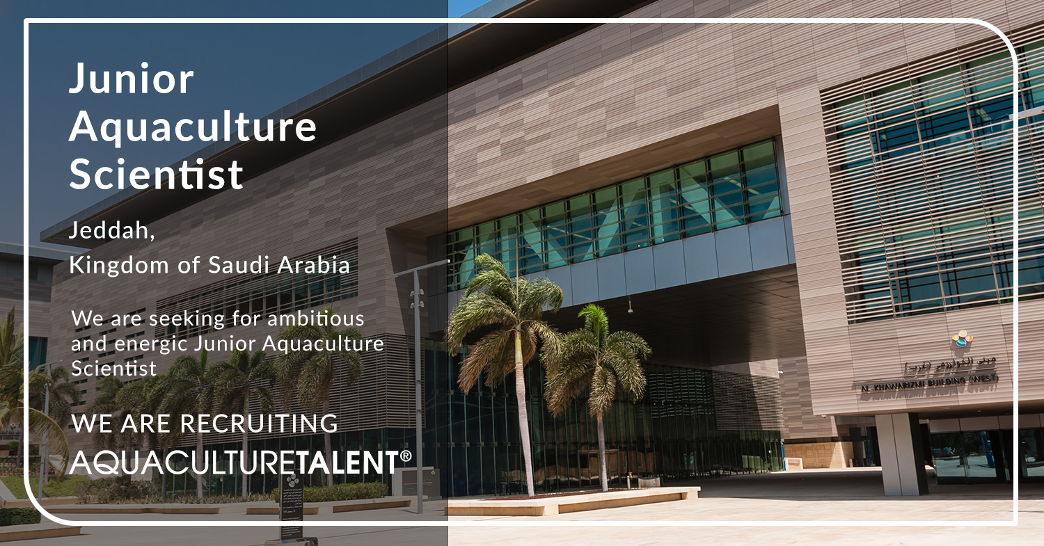 The successful candidate will join the Aquaculture Development Program team to implement the ongoing and future projects in the university facilities or assigned aquaculture research centres.