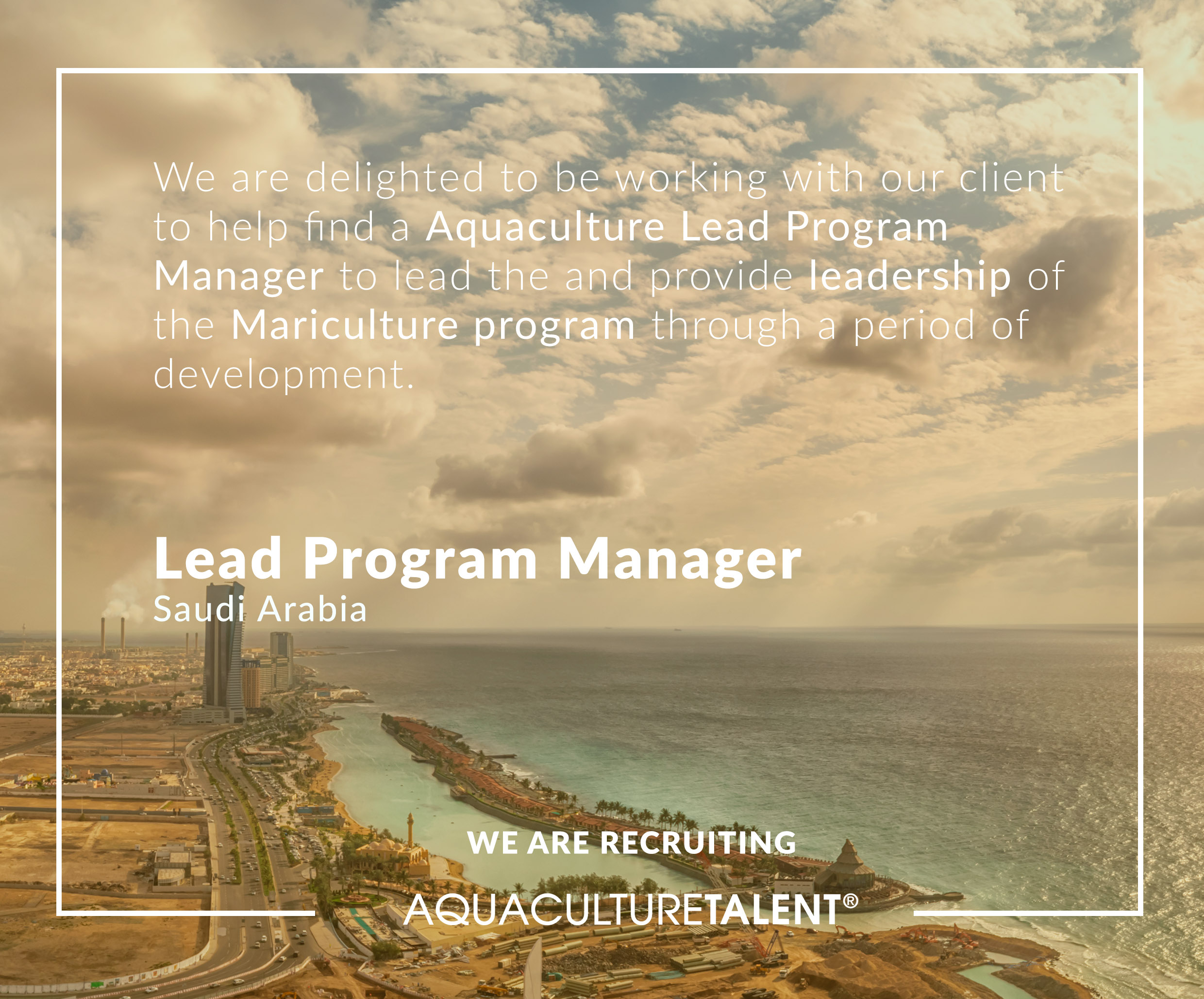 Aquaculture Lead Program Manager