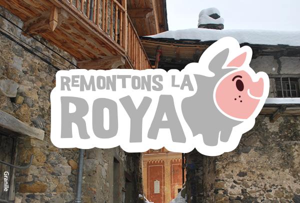 Logo Remontons la Roya - photo de granile