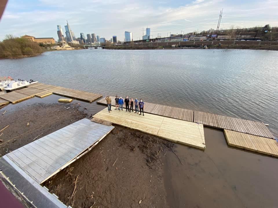 Vesper Dock Extension Building Crew