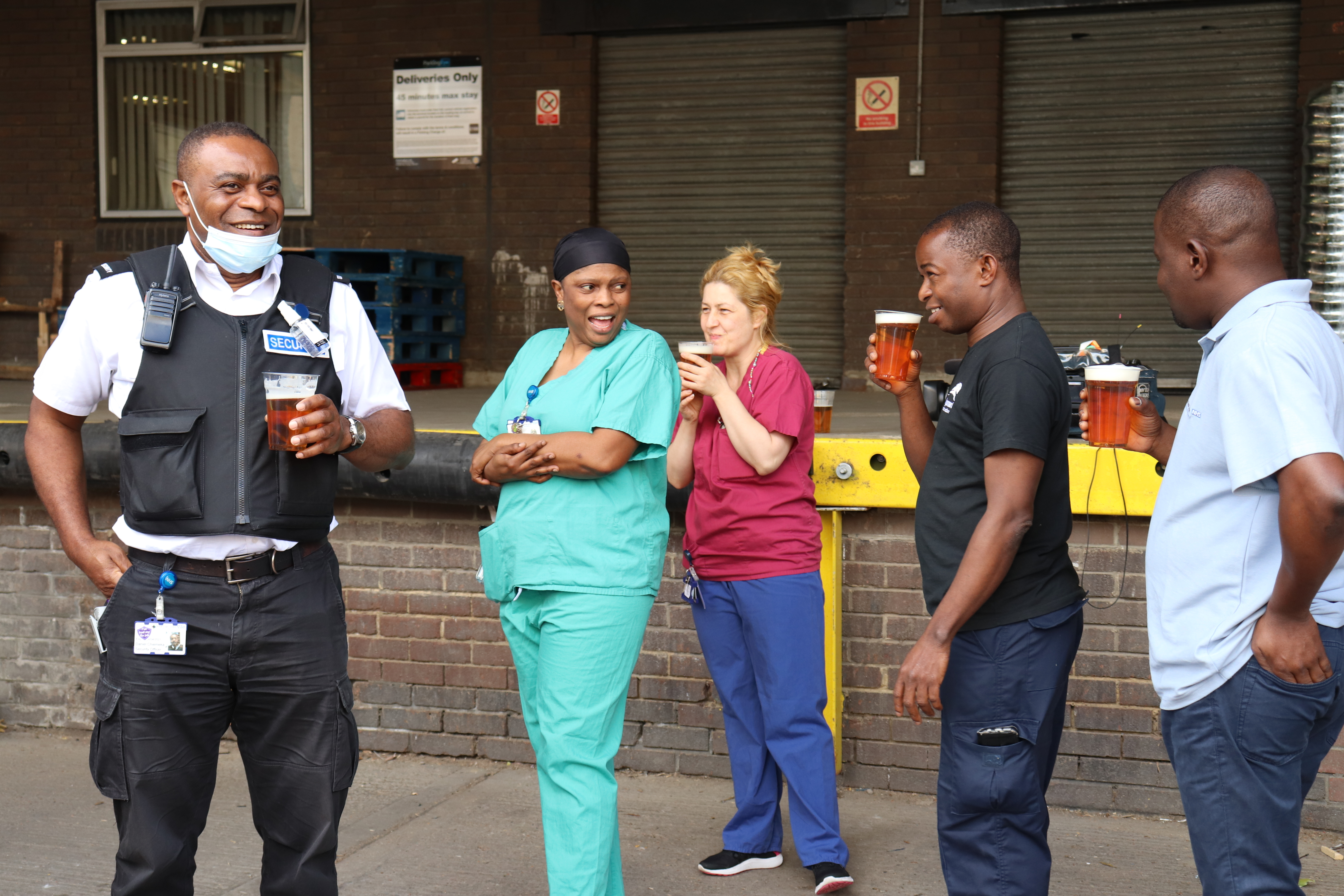 Alcohol-free beers being served to NHS staff