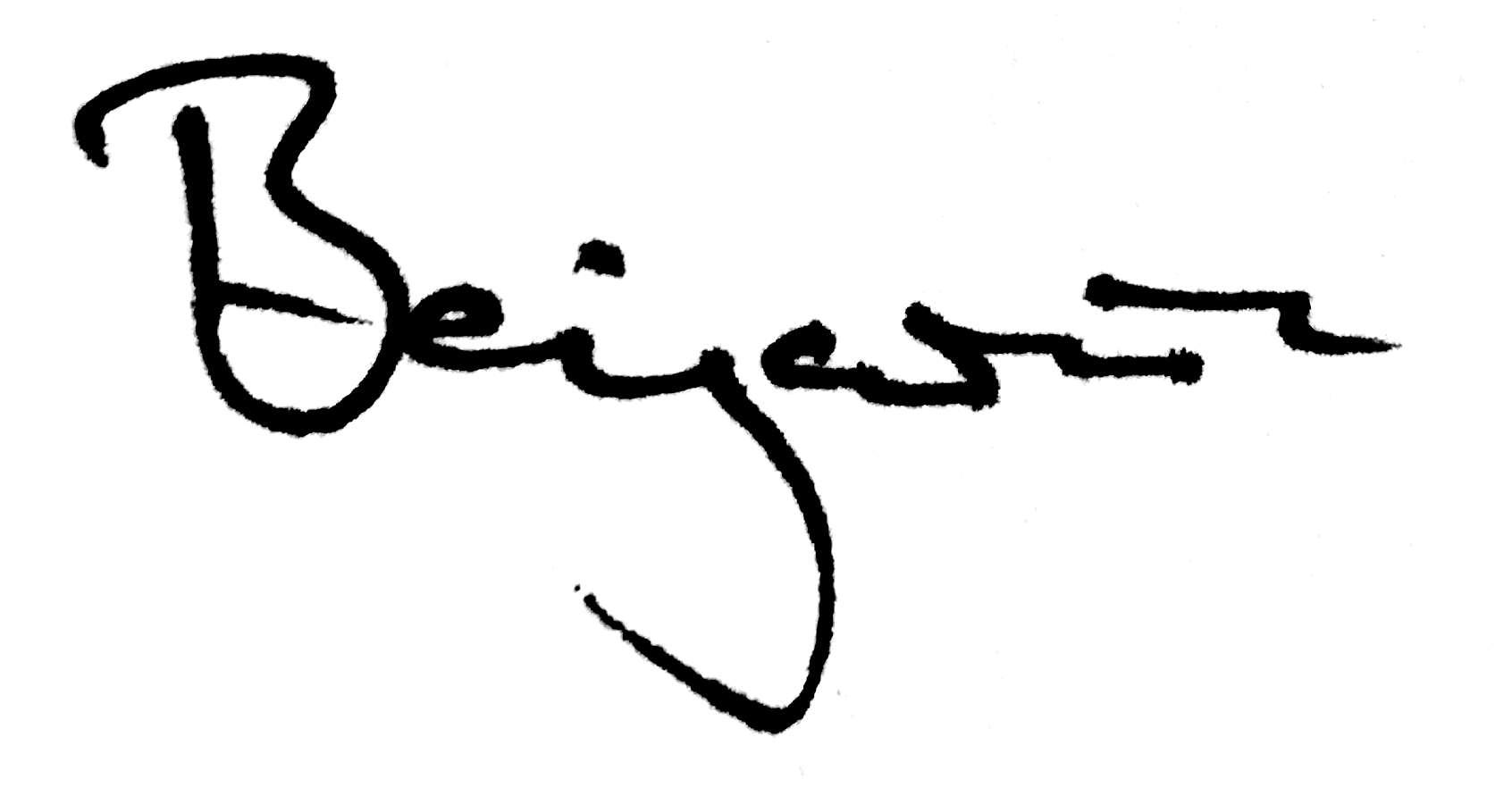 Benjamin's Signature