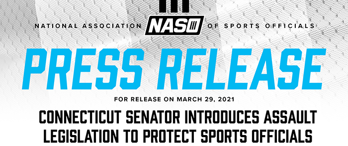 National Association Of Sports Officials - Press Release