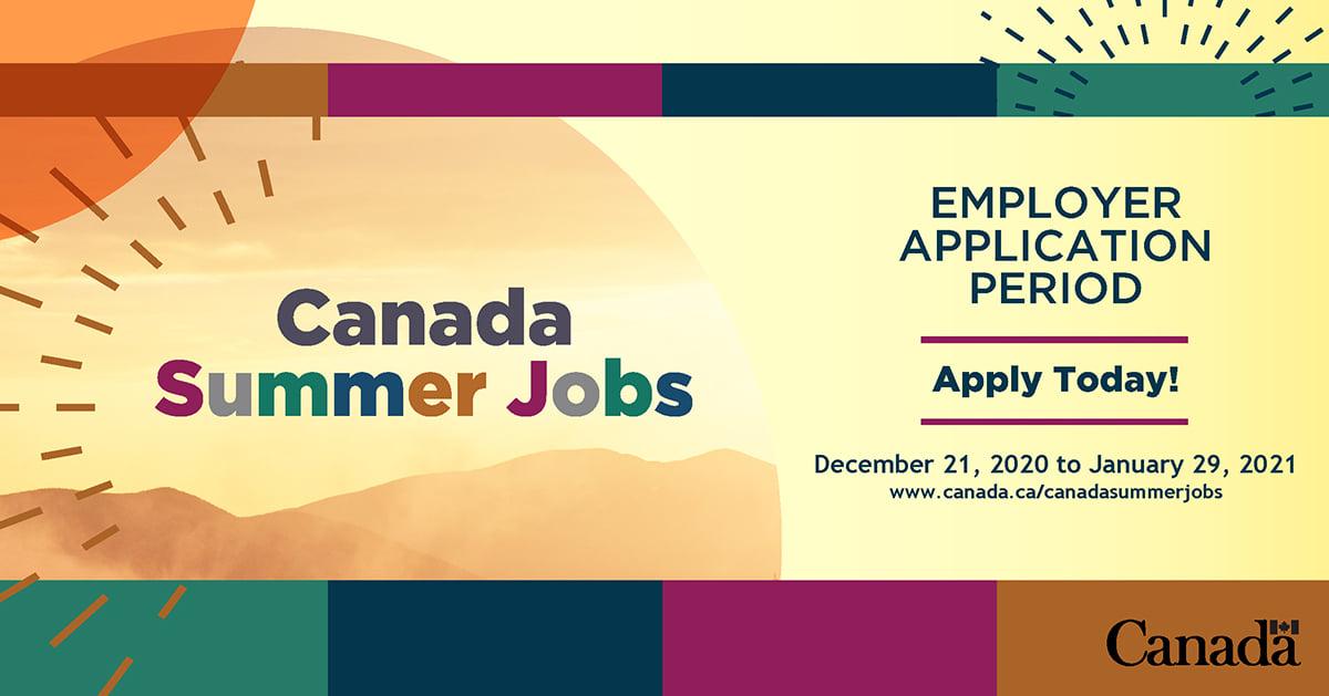 Employer Application for Canada Summer Jobs