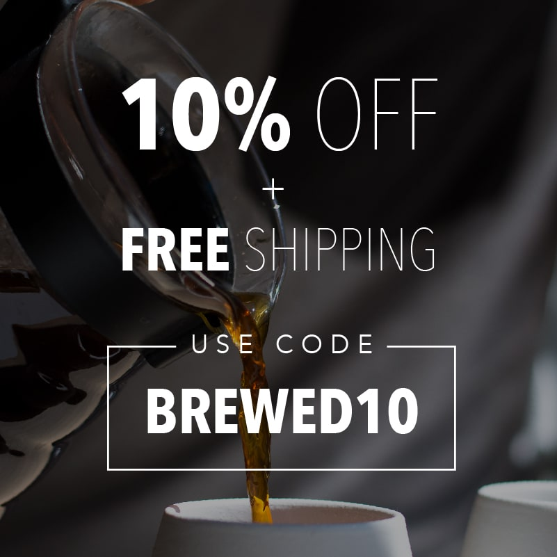 10% off and free shipping on all your orders