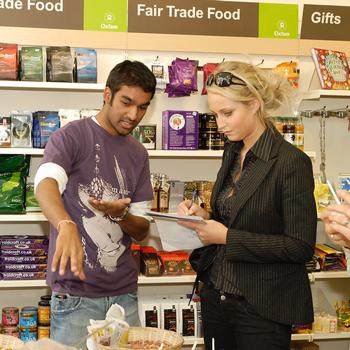 Volunteer in Oxfam