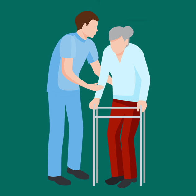 Care worker graphic