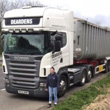 Rachel, HGV driver
