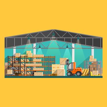 Warehouse graphic