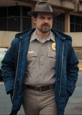 Jim Hopper from Stranger Things