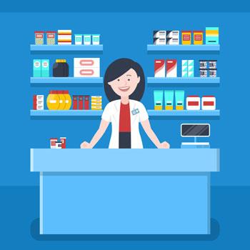 Pharmacist graphic