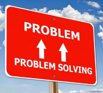 Problem-solving sign