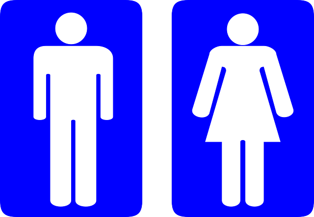 Image of a male and female cartoon