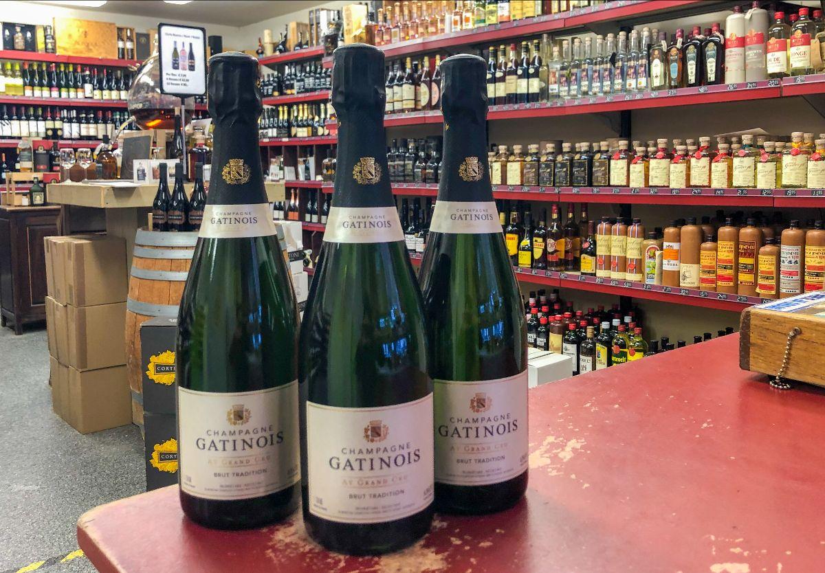 Gatinois Champagne van Topido
