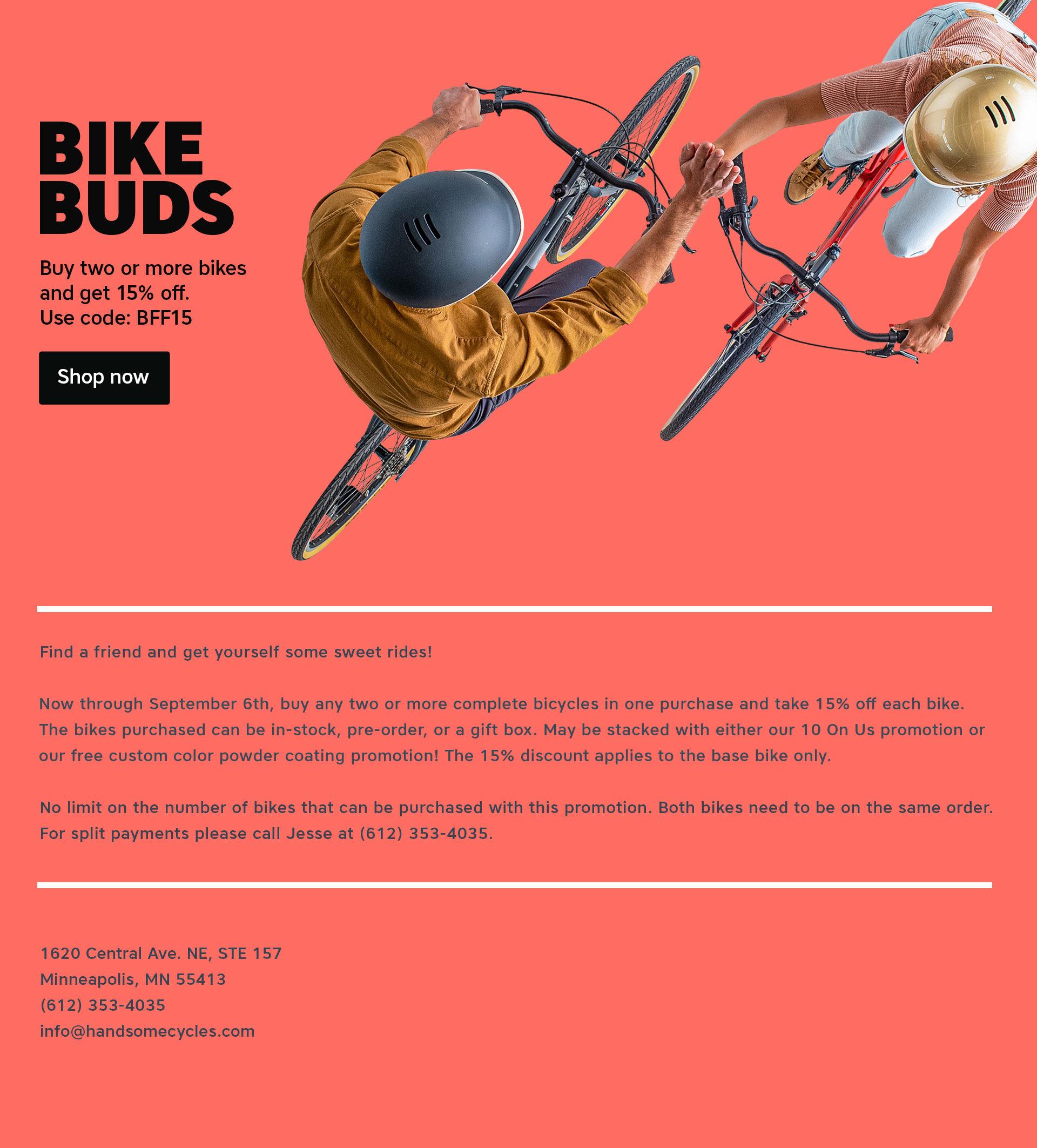 Bike Buds Image