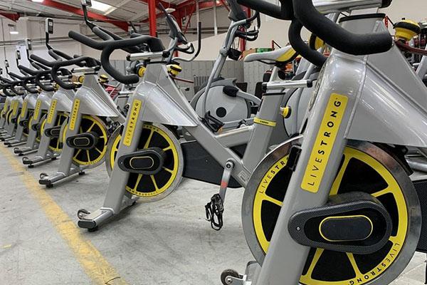 Live Strong Indoor Bikes