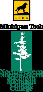 Michigan Tech and NMC logos