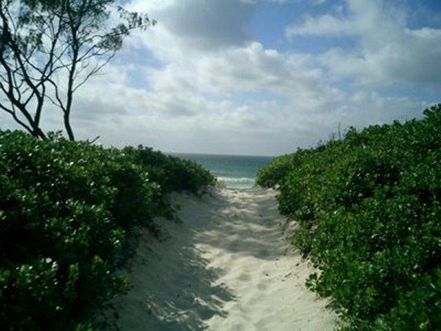 Tyagarah Beach in Byron Bay