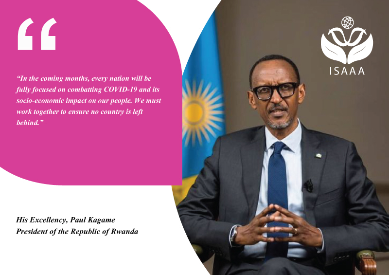 His Excellency, Paul Kagame President of the Republic of Rwanda