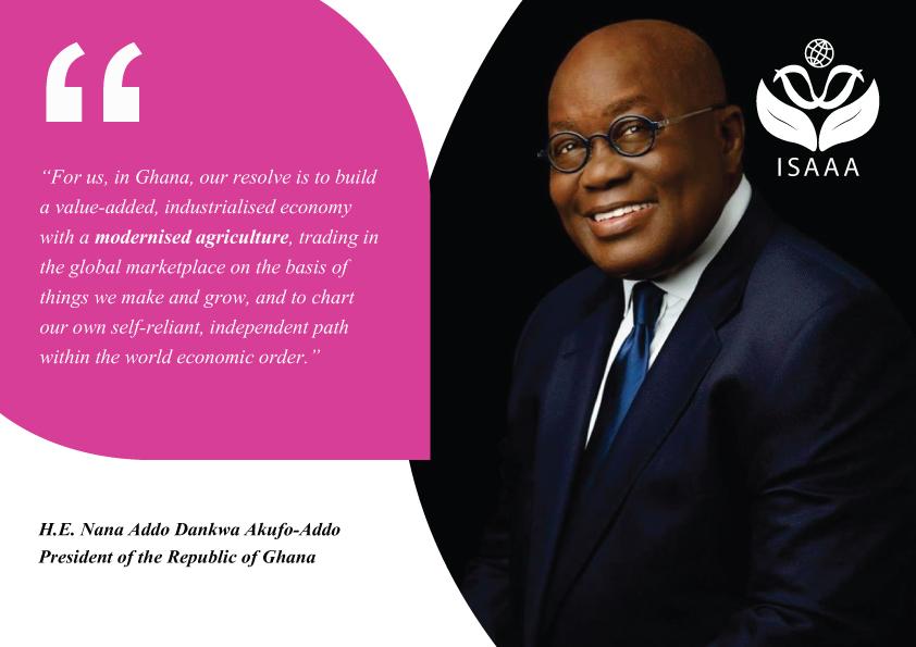 H.E. Nana Addo Dankwa Akufo-Addo, President of the Republic of Ghana