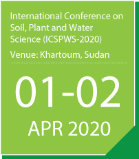 International Conference on Soil, Plant and Water Science (ICSPWS-2020)
