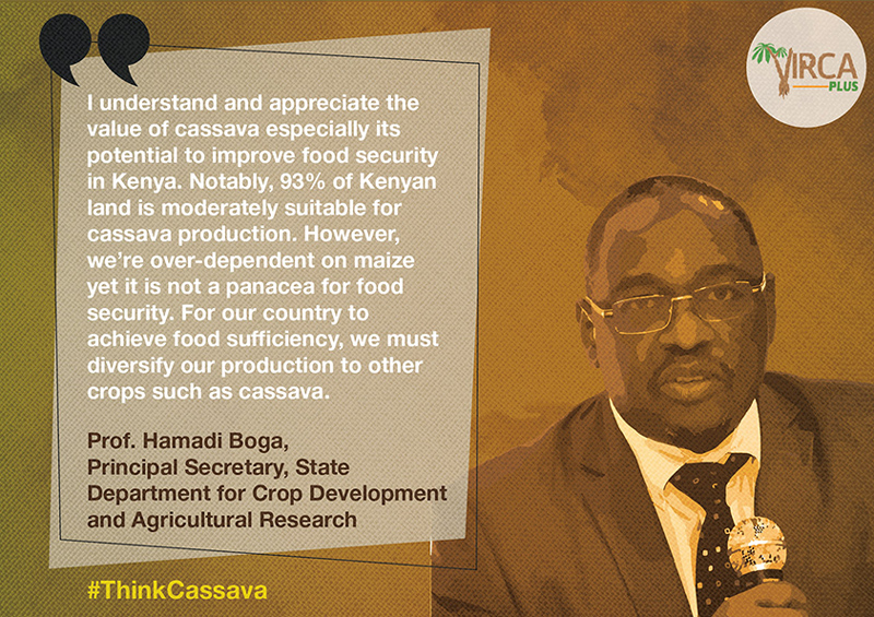 Prof. Hamadi Boga, Principal Secretary, State Department for Crop Development and Agricultural Research
