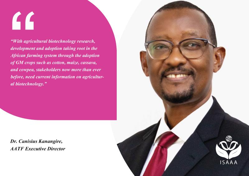 Dr. Canisius Kanangire, AATF Executive Director
