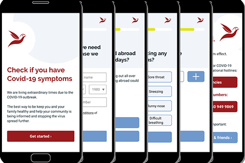Ghana's e-health start-up enabling testing and reporting of COVID-19 symptoms online