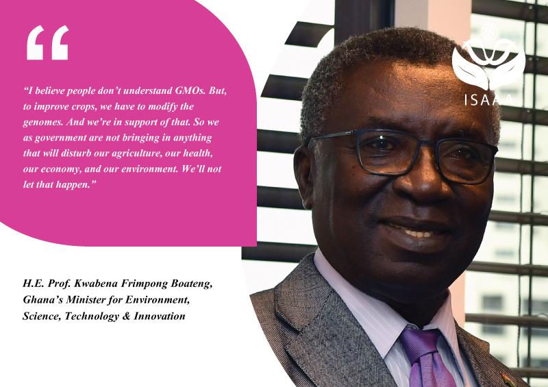 H.E. Prof. Kwabena Frimpong Boateng