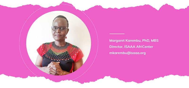 Dr Margaret Karembu