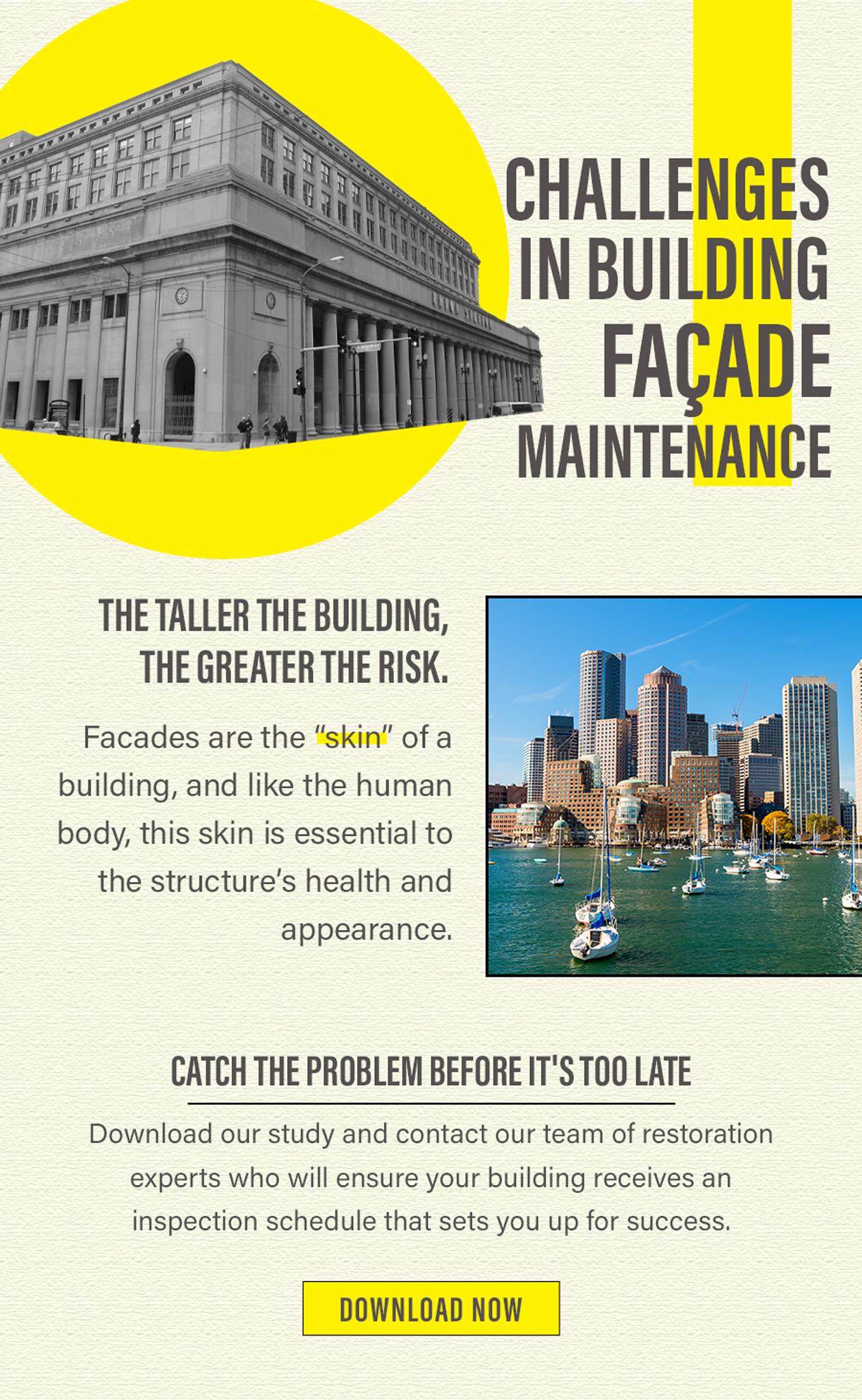 Challenges in Building Facade Maintenance