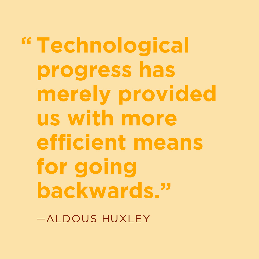 Getting the most out of our technology